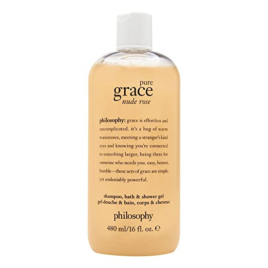 Philosophy Pure Grace Nude Rose, 16.0 oz Shampoo, Bath & Shower Gel