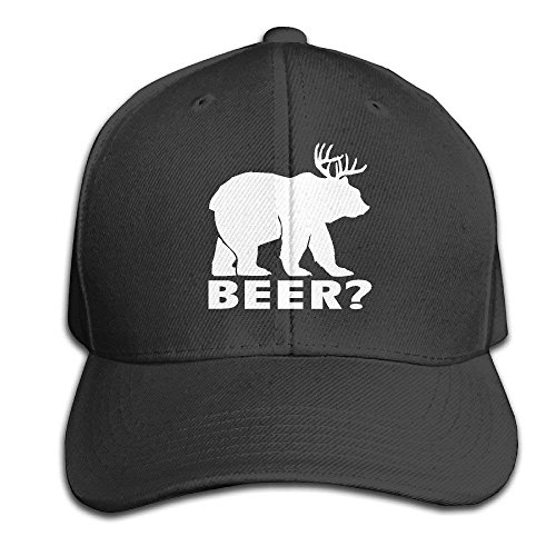 NDJHEH Gorras béisbol Beer Bear Deer Adjustable Hats