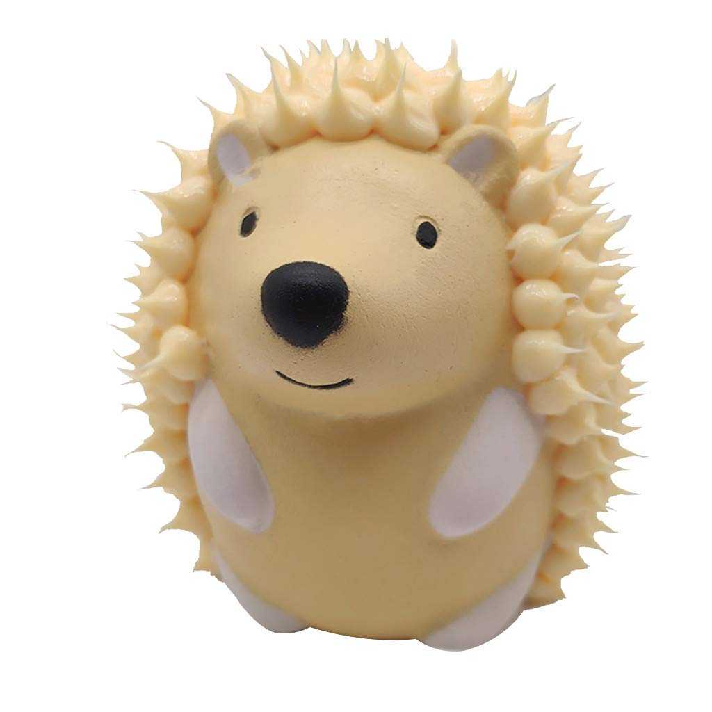 welcomeuni 1340 Squishies Cute Hedgehog Scented Charm Slow Rising ExtrusionStress Reliever Toy Puzzle Toy Squishy Toy