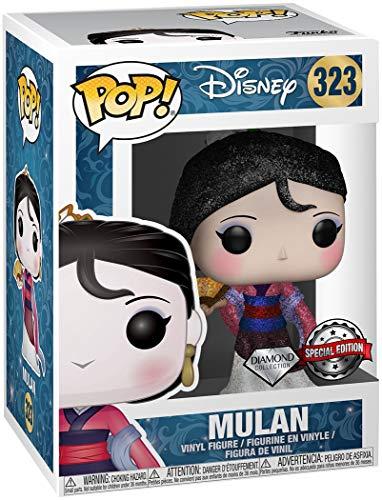 POP! Funko Disney #323 Mulan Diamond Collection Vinyl ()
