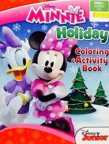Holiday Christmas Disney Jr. Minnie Mouse Clubhouse Coloring & Activity Book! 32 ()
