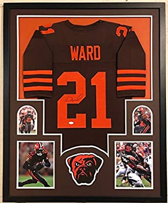 FRAMED CLEVELAND BROWNS DENZEL WARD AUTOGRAPHED SIGNED JERSEY JSA COA at  Amazon s Sports Collectibles Store bf590d9ba