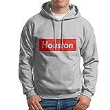 Tchol Hoodies Houston 100% Cotton Men Sweatshirts With No Pocket