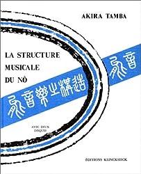 La structure musicale du no