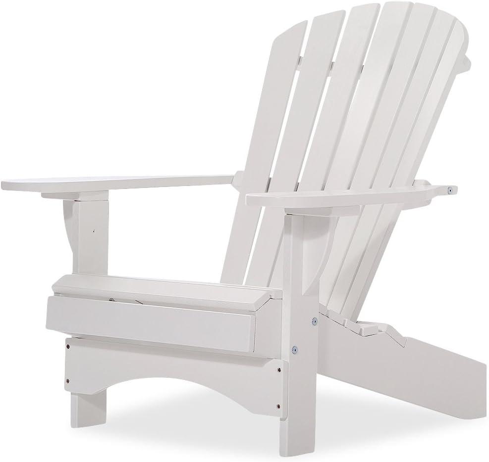 Original Dream-Chairs since 2007 Adirondack Chair Comfort de Luxe en Blanco