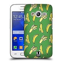 Head Case Designs Green Bananas Hard Back Case for Samsung Galaxy Grand Prime