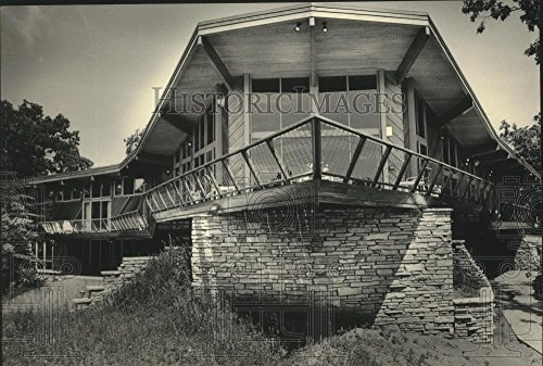 1986 Press Photo The home of John Joanis, Chairman of Sentry Insurance