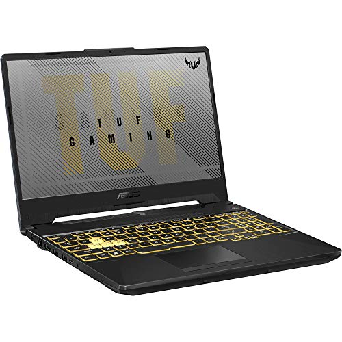 "ASUS TUF A15 Gaming and Entertainment Laptop (AMD Ryzen 7 4800H 8-Core, 32GB RAM, 512GB PCIe SSD, GTX 1660 Ti, 15.6"" Full HD (1920x1080), WiFi, Bluetooth, Webcam, Win 10 Home) (Renewed)"