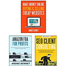 MAKE MONEY ONLINE (3 in 1 Bundle): AMAZON FBA  - SEO CONSULTING  - BUY & SELL WEBSITE