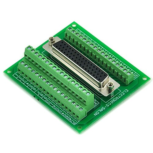 Electronics-Salon D-SUB DB50 Female Header Breakout Board, Terminal Block, Connector. by Electronics-Salon (Image #1)