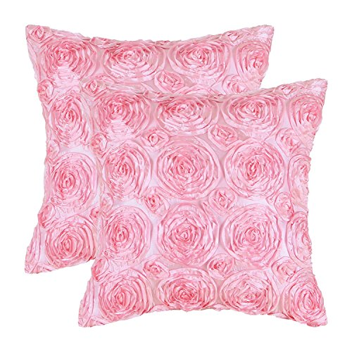 Cheap  CaliTime Pack of 2 Cushion Covers Throw Pillow Cases Shells for Couch..