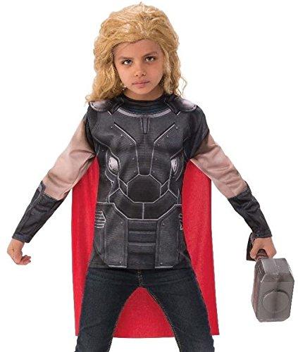 Thor: Ragnarok Child's Thor Costume Top and Cape Set, Small