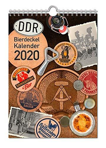 Bierdeckelkalender DDR 2020: Historische Bierdeckel aus der DDR