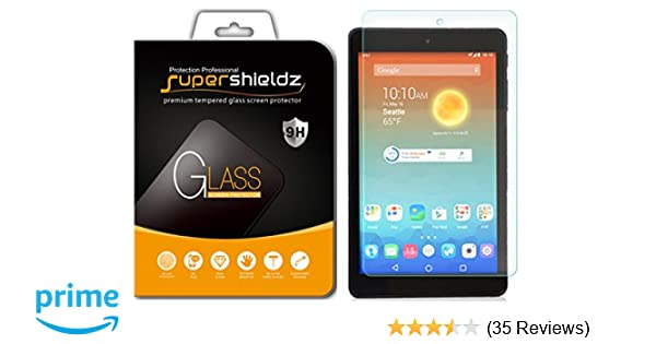 2 Pack Tempered Glass Screen Protector For AT/&T Trek HD 8 inch 9020A