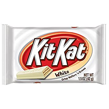 amazon com kit kat wafer bars with white crème 2 pack 24 ct each