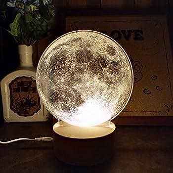 Leviluna Magnetic Levitation Led Moon Light 6inch 15cm Maglev Levitation Floating 3d Moon Lamp