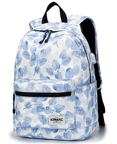 Kinmac Waterproof Laptop Travel Outdoor Backpack with USB Ch