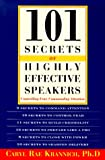 101 Secrets of Highly Effective Speakers, Caryl R. Krannich, 1570230900