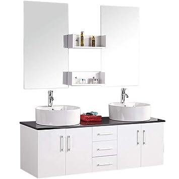 GRAFICA MA.RO SRL Muebles para baño Modelo Lion 150 cm para Cuarto ...