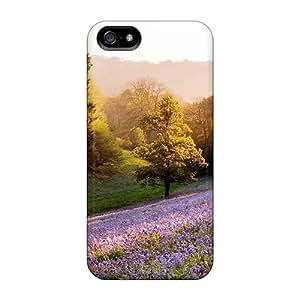 New Design Shatterproof VjJStQu626PbXmj Case For Ipod Touch 4 Cover (purple Hill)