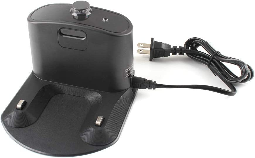 Integrated Home Base Charger, Home Base Dock Charger with Cord and Plug For iRobot Roomba 500 600 700 800 900 series