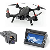 MJX D43 5.8GHz FPV Monitor Wireless Receiver 4.3 inch Display Screen + C5830 720P HD WiFi FPV Camara - CreaTion