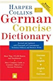 HarperCollins German Concise Dictionary, HarperCollins, 0060575778