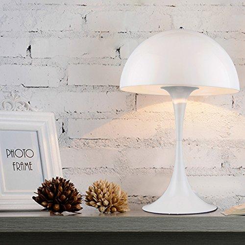 WHITE TABLE LAMP SCANDINAVIAN MID CENTURY MODERN