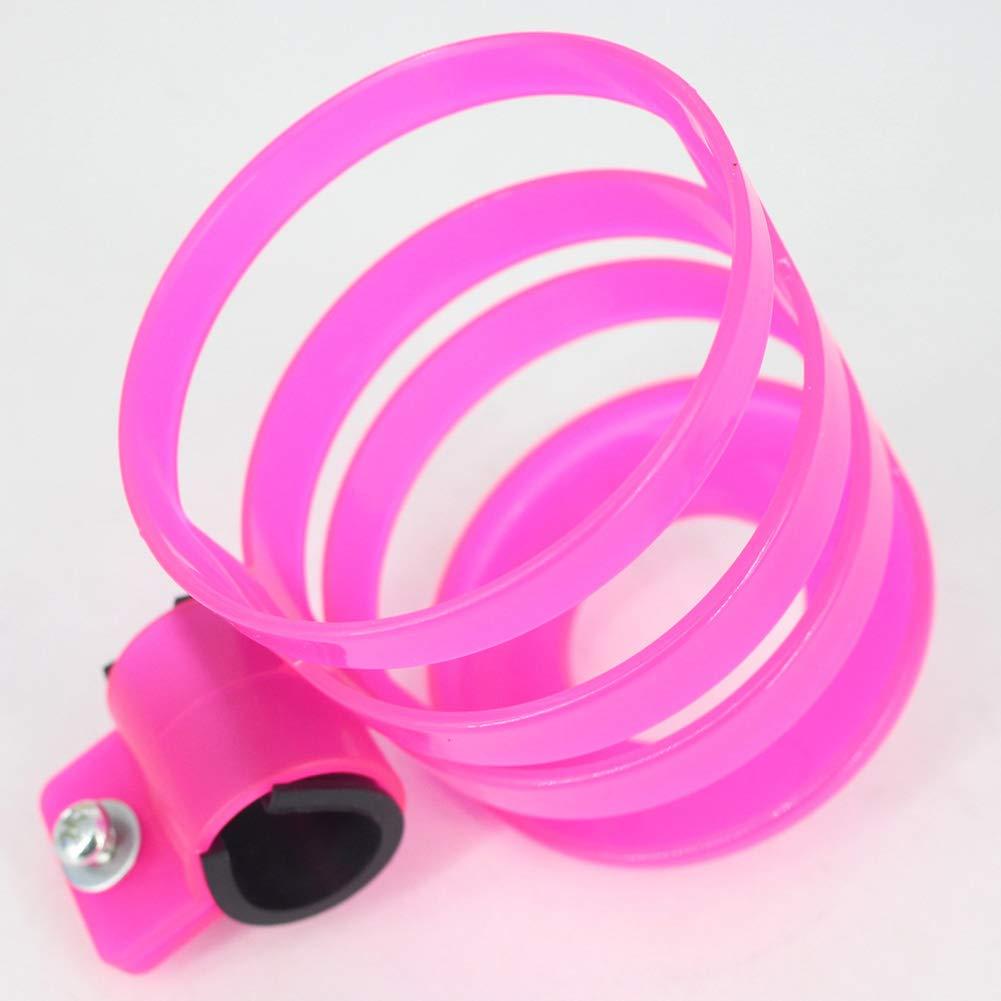 Mosichi Bike Motorcycle Baby Pram Stroller Milk Bottle Drink Water Cup Holder Mount Cage Pink