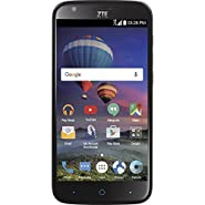 TracFone ZTE Zmax Champ 4G LTE Prepaid Smartphone - Certified Preowned
