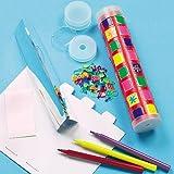 Lot de 5 Kits Kaléidoscopes pour enfants à personnaliser et à assembler