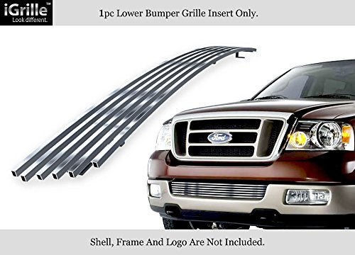 APS Fits 2004-2005 Ford F-150 Lower Lower Bumper Stainless BGC Billet Grille #F85351C
