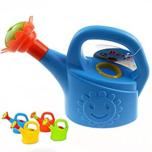 Personality Favorite Gifts Children Chick Watering Pot Bath Toy Beach Play Water Sand Tool Toys Watering Can Toy-Random