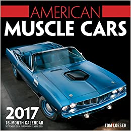 American Muscle Cars Month Calendar September