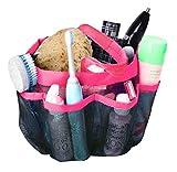 shower caddy - Attmu Oxford Mesh Shower Caddy, Shower Tote, Shower Bag, Bathrooms Bag, Pink