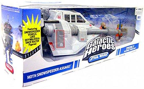 (Star Wars Galactic Heroes Cinema Scene - Snow Speeder)