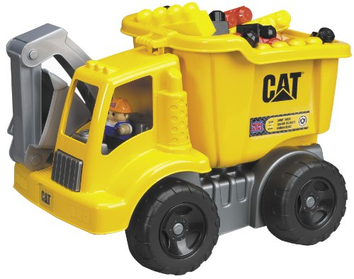 Cat Mega Dump (Mega Bloks Cat Large Vehicle Dump Truck)