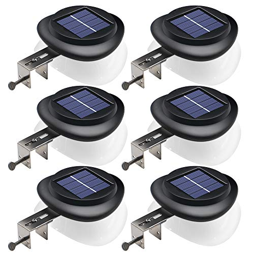 DBF Solar Waterproof LED Landscape Lights with Auto On/Off