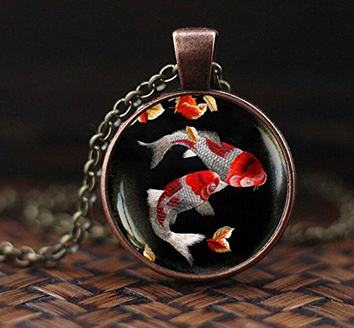 Koi fish necklace japanese koi fish japanese art pendant koi koi fish necklace japanese koi fish japanese art pendant koi buy online in oman office product products in oman see prices reviews and free aloadofball Image collections