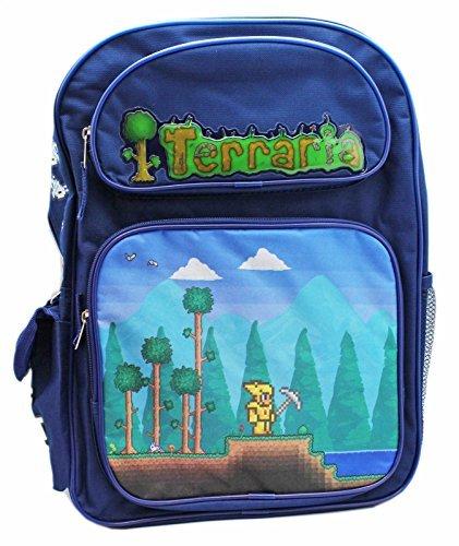 Terraria Boys 16 Large Blue School Backpack(3615) -