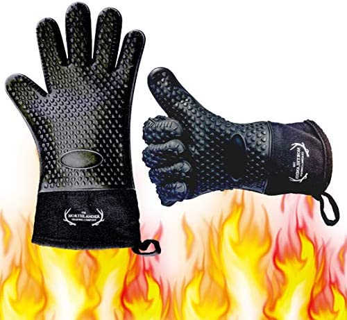 Long Silicone Grill Gloves Accessories product image