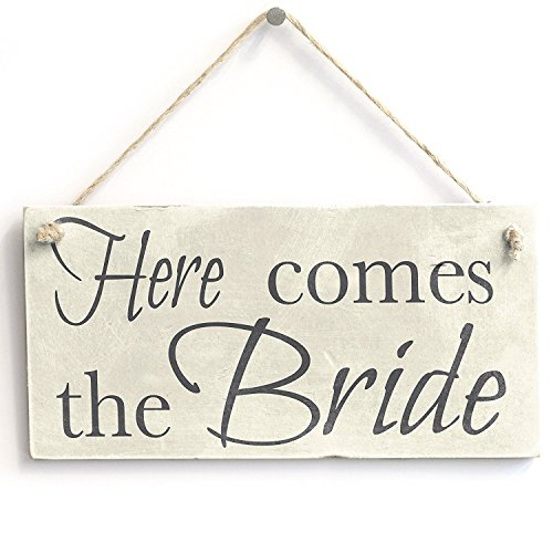 Meijiafei Here Comes The Bride - Wedding Accessory PVC Sign Decoration 10
