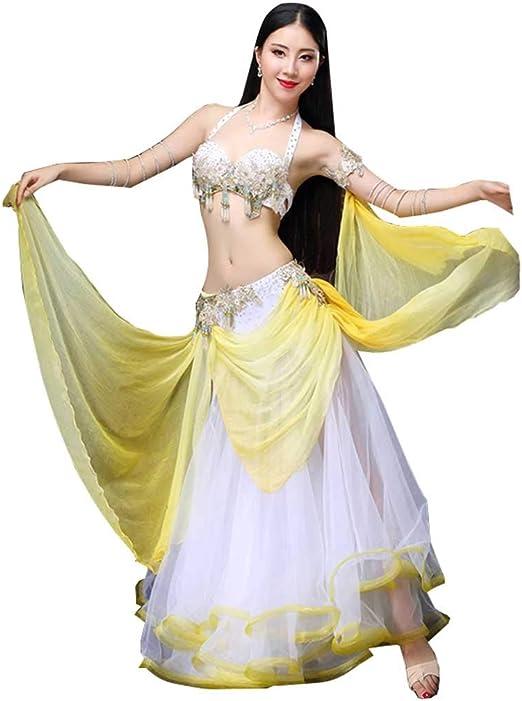 JR RJ Vestidos Dirndl Disfraz de Danza del Vientre Moderno para ...