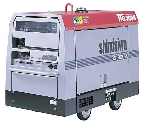 新ダイワ エンジンTIG溶接機 DGT300MC-W