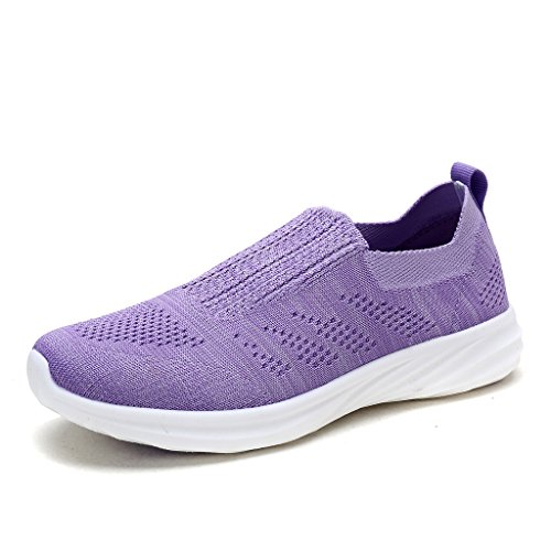 DREAM PAIRS Women's 171114-W Lavender Running Shoes Comfort Sneakers Size 7.5 M US