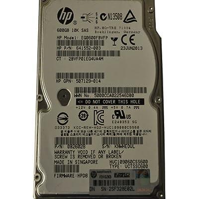 641552-003 Hewlett-Packard 600Gb 10000Rpm 2.5Inch Sas 6Gbps Hard Driv