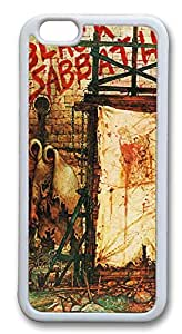 iPhone 6 Cases, Black Sabbath Durable Case Cover for Apple iPhone 6 4.7INCH Screen TPU White