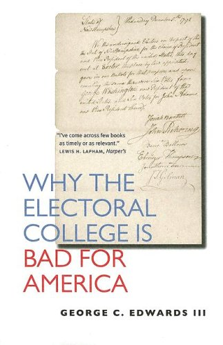 Why the Electoral College Is Bad for America