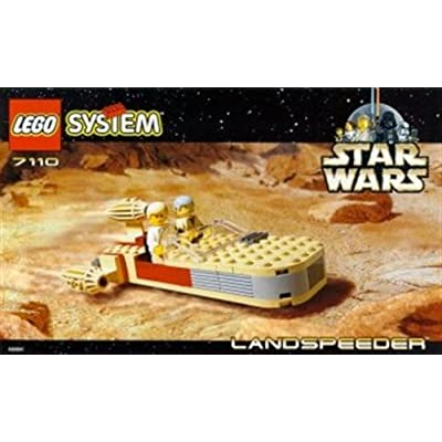 Lego Star Wars 7110 Landspeeder Set: Toys & Games