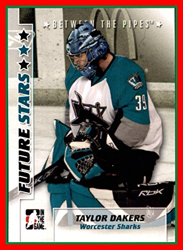 2007-08 Between The Pipes #50 Taylor Dakers WORCESTER SHARKS ()